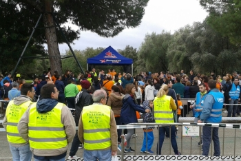 El Parque del Alamillo acoge a más de un millar de atletas solidarios en la III carrera por la Esclerósis Múltiple