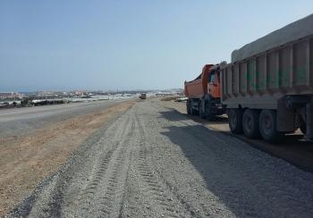 La Junta habilita un desvío de tráfico alternativo a la A-391 para ejecutar la nueva glorieta de la variante de Roquetas