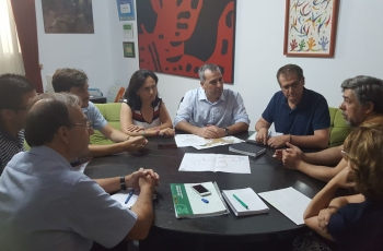 Junta y Ayuntamiento de Castro del Río reactivan la peatonalización y adecuación del conjunto histórico de La Villa