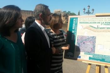 López anuncia para este verano el inicio de las obras de reordenación de la Ronda de Marrubial