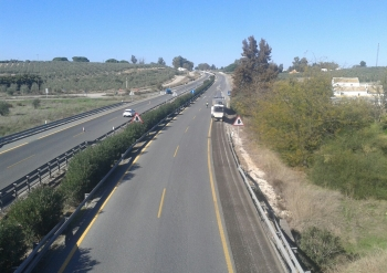 La Junta destina en 2017 más de 123 millones a la conservación de las carreteras andaluzas, un 26% más