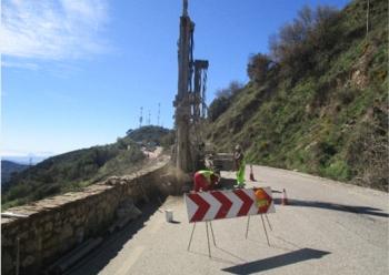 La Junta realiza obras de emergencia en 25 carreteras dañadas por el temporal de diciembre en Cádiz y Málaga
