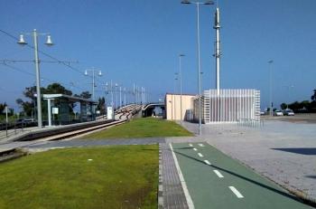 La Junta culmina las obras de la nueva estación intermodal de San Fernando con la finalización de los trabajos de pintura y jardinería
