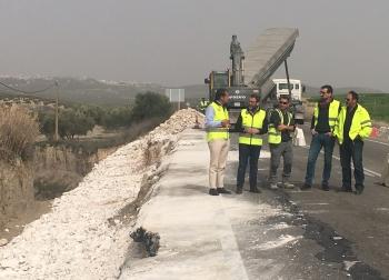 La Junta destina este año 15,9 millones a la conservación de las carreteras andaluzas, con 1.434 kilómetros en Jaén