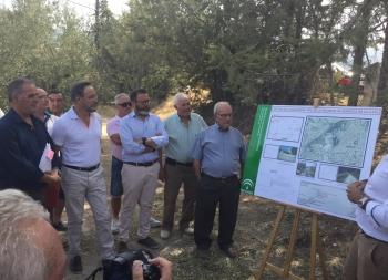 La Junta inicia las obras de seguridad vial en la A-315, que eliminarán tráfico pesado del núcleo de Quesada