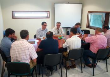 Junta traslada al Ayuntamiento de Barbate las actuaciones de mejora del puerto y su futura integración en la ciudad