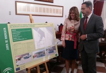 La Junta licitará en el último trimestre de este año las obras para la construcción de un apeadero de autobús en Montoro