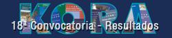 Colección Kora. 18ª Convocatoria - Resultados