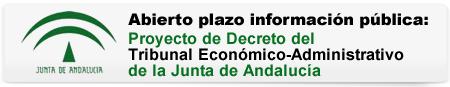 Proyecto Decreto del Tribunal Económico-Administrativo de la Junta de Andalucía