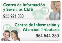 Centro de Informaci�n y Servicios y Centro de Información y Atención Tributaria: