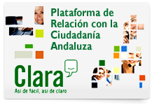 Plataforma de Relaci&oacute;n con la Ciudadan&iacute;a Andaluza. Clara