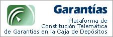 Plataforma de Constitución TElemática de Garantías en la Caja de Depósitos