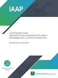Cuestionario de evaluabilidad de planes y estrategias de la Junta de Andalucía. Se abre en una ventana nueva