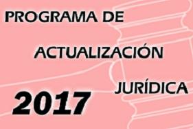 Programa de Actualización Jurídica 2017. Se abre en una ventana nueva