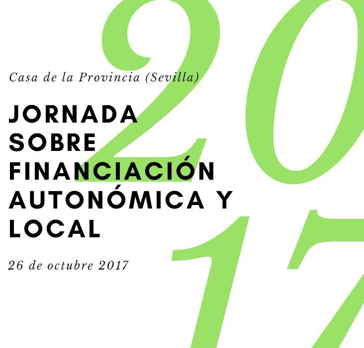 JORNADA SOBRE FINANCIACIÓN AUTONÓMICA Y LOCAL