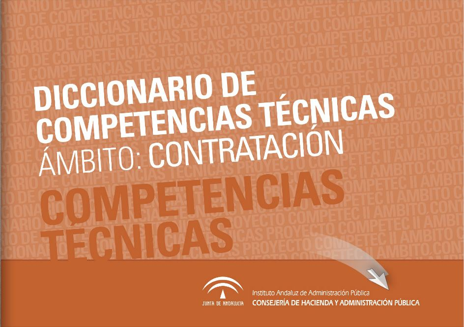 DICCIONARIO DE COMPETENCIAS TÉCNICAS ÁMBITO CONTRATACIÓN