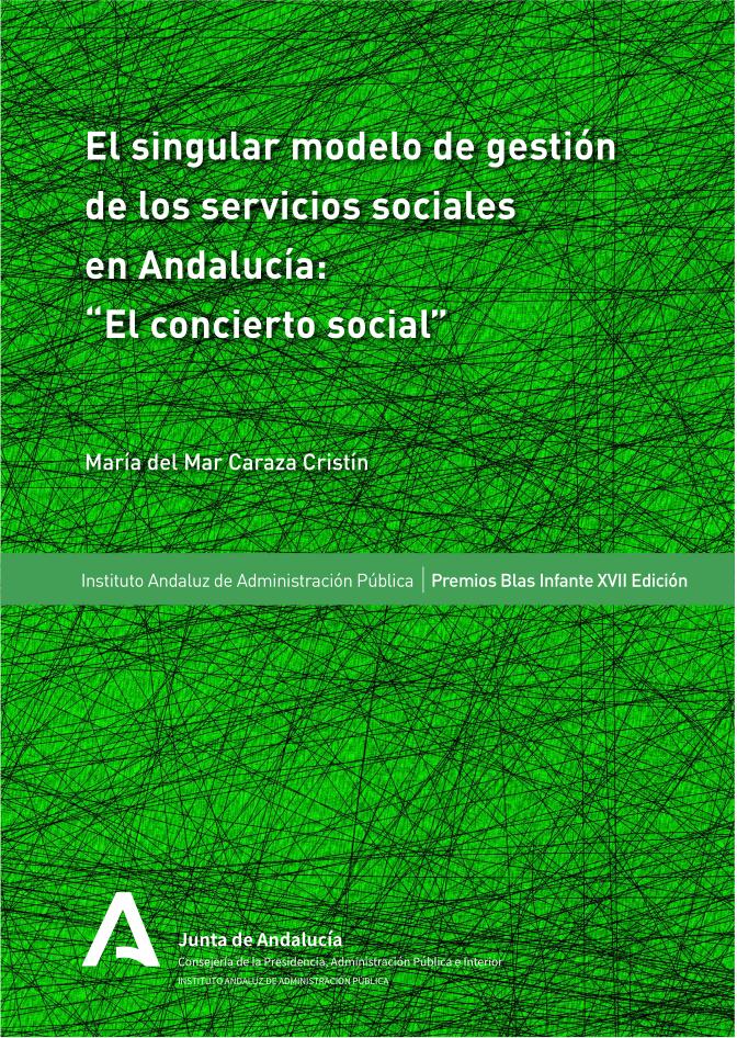 SINGULAR MODELO DE GESTIÓN DE LOS SERVICIOS SOCIALES EN ANDALUCÍA: