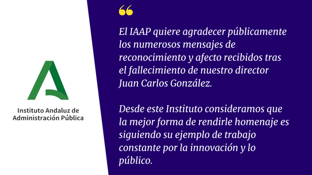 In Memoriam - Juan Carlos González