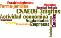 Directorio de Empresas y Establecimientos con Actividad Económica en Andalucía