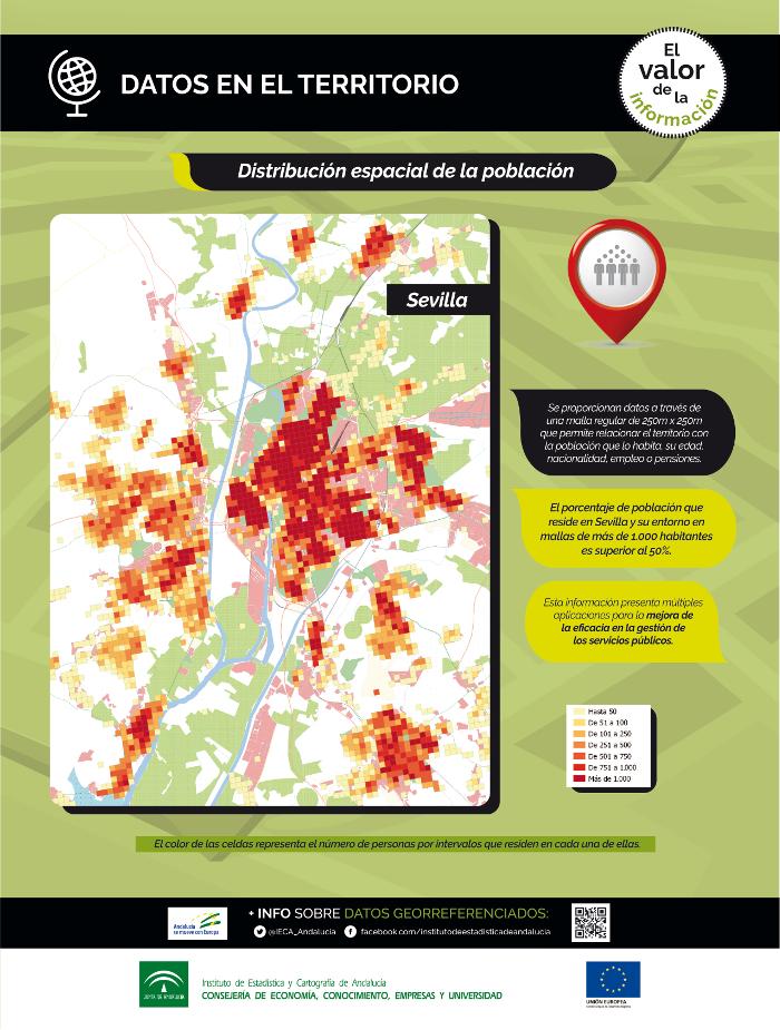 Datos en el territorio. Distribución espacial de la población