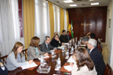 Reunión entre el Instituto de Estadística de Andalucía y  el Consejo Andaluz de Cámaras