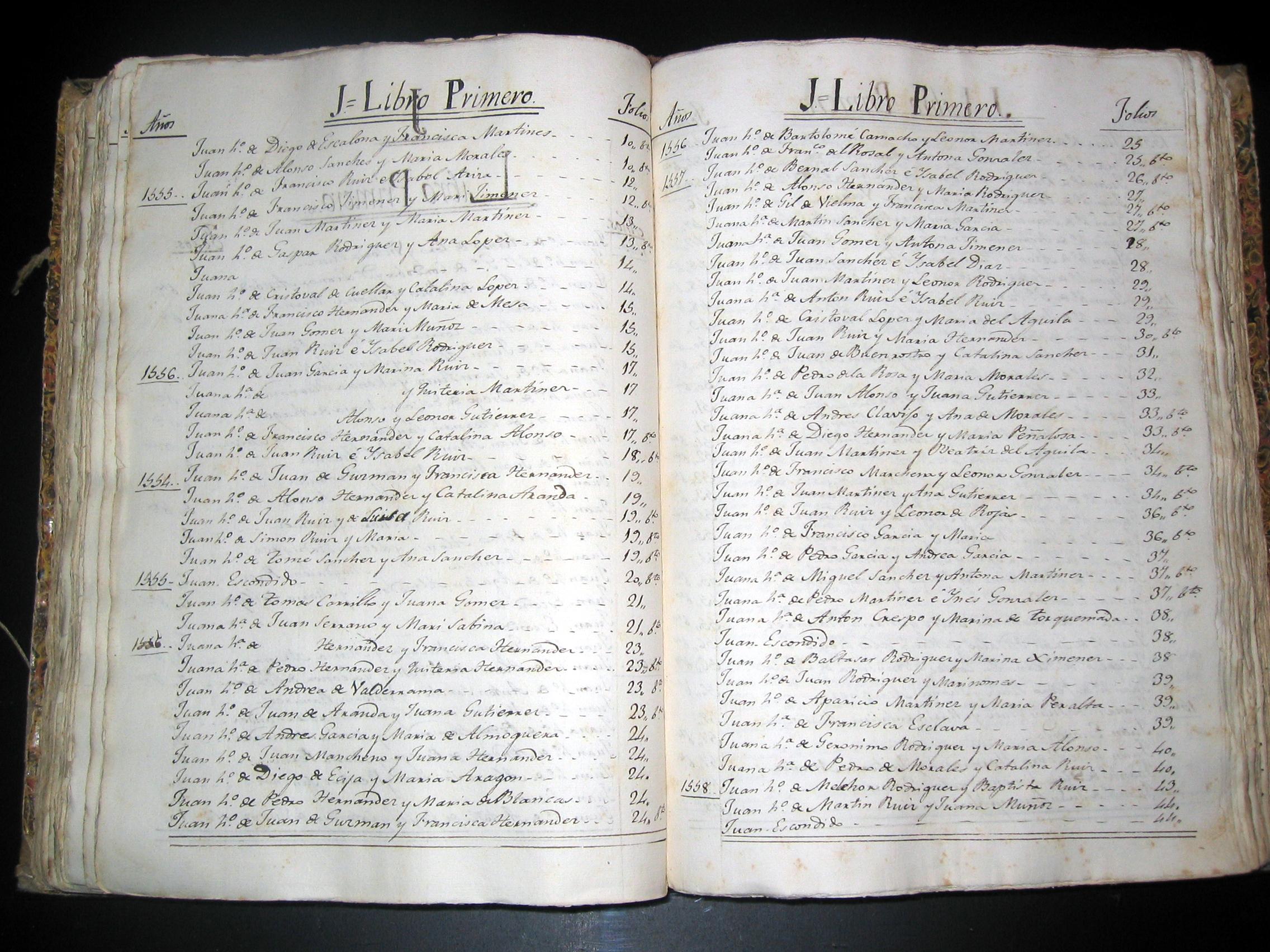 Libro de registros sexuales