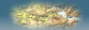 mapa banner