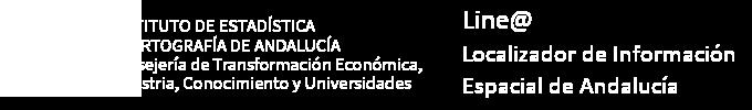 Linea. Localizador de Información Espacial de Andalucía
