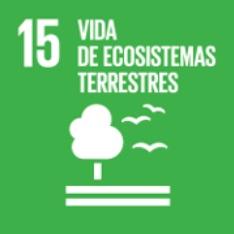 Objetivo 15. Vida de ecosistemas terrestres