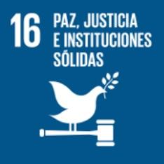 Objetivo 16. Paz, justicia e instituciones sólidas