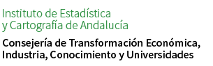 Web of the Institute of Statistics and Cartography of Andalusia