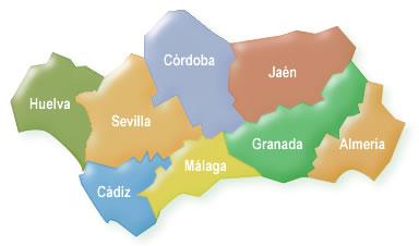 Mapa de Andaluc�a