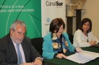 Junta y RTVA colaborarán para promocionar la igualdad a través de los medios y prevenir la violencia en la juventud