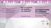 El IAM y el CAA lanzan una campaña para fomentar en la industria publicitaria la elaboración de anuncios de juguetes no sexistas