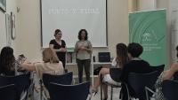 El IAM aborda en Sevilla la lucha contra la violencia de género con la proyección del corto 'Punto y final' y una mesa-coloquio