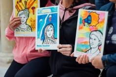 Los centros de acogida del IAM se llenan de imágenes de mujeres referentes para fomentar la autoestima de las víctimas de la violencia machista