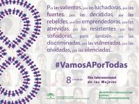 Andalucía lanza la campaña 'Vamos a por todas', para reivindicar la igualdad real para todas las mujeres