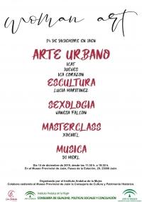 Clases en directo, exhibición de grafitis, charlas y música en el Museo Provincial de Jaén para visibilizar a las mujeres en el arte