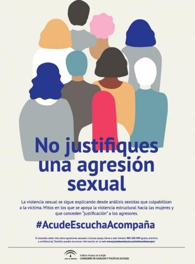 Andalucía amplía el servicio de atención inmediata a mujeres víctimas de agresiones sexuales