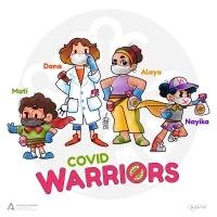 'COVID Warriors', el escuadrón antivirus de las mujeres y menores de las casas de acogida