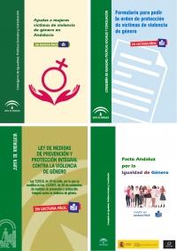 Cada provincia andaluza recibirá 765 ejemplares de los textos adaptados a lectura fácil para víctimas de violencia machista con discapacidad