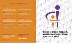 Servicio de atención psicológica a hijas e hijos menores de mujeres víctimas de violencia de género