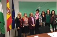 La directora del IAM defiende ante el Consejo Andaluz de Participación de las Mujeres reforzar las medidas de coeducación para alcanzar la igualdad real