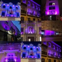 El Palacio de San Telmo, el IAM y sus ocho Centros Provinciales de la Mujer se iluminarán de color violeta con motivo del 25N