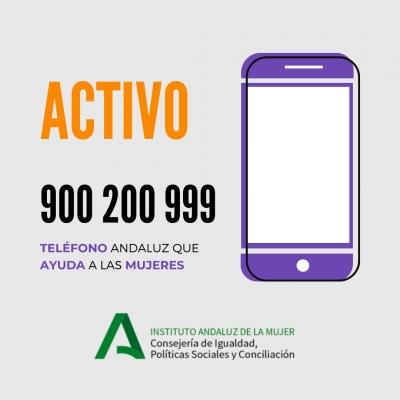 El Teléfono de Atención a las Mujeres de Andalucía recibe en abril el mayor número de llamadas desde su puesta en marcha con 3.815
