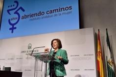 25 años Instituto Andaluz de la Mujer Consejera María José Sánchez Rubio
