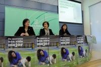 Consejera presenta informe anual violencia de género 2013