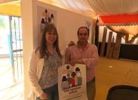 El IAM refuerza en la Feria de Córdoba la difusión de la campaña 'No justifiques una agresión sexual' para sensibilizar a la población
