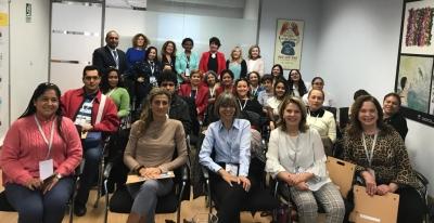 Una delegación iberoamericana visita el IAM como referente de trabajo a favor de la igualdad