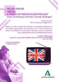 El Centro Carmen de Burgos programa talleres online de inglés y asociacionismo en septiembre